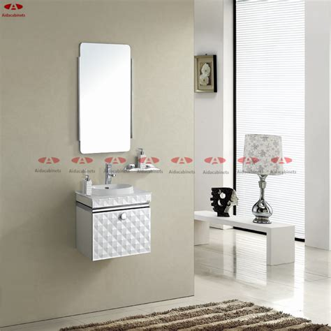 Stainless Steel Bathroom Vanity Top by Modern Mirrored Stainless Steel Bathroom Vanity Top Cabinet With Handle In Bathroom Vanities