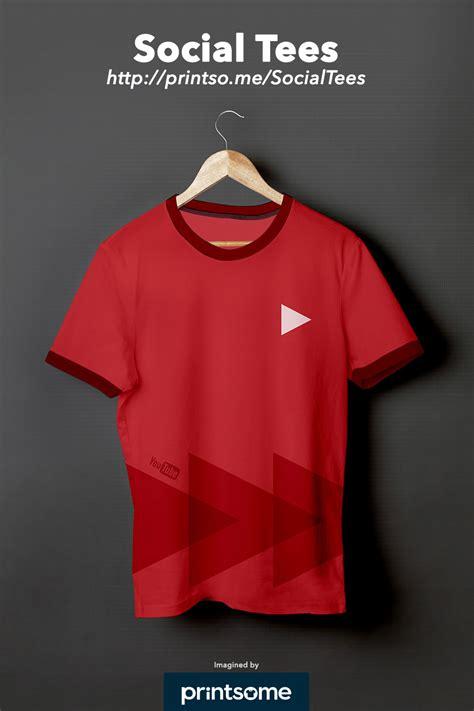 t shirt design you tube social tees social network t shirts