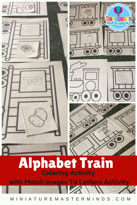 printable preschool train activities miniature masterminds