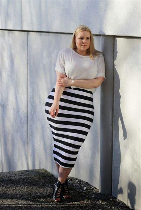 Skirt Lancip Black 18 ways to wear a striped skirt 2018 fashiongum