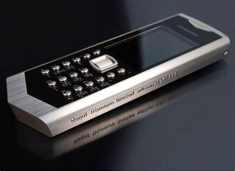 titanium mobile gresso regal titanium luxury angular phone extravaganzi