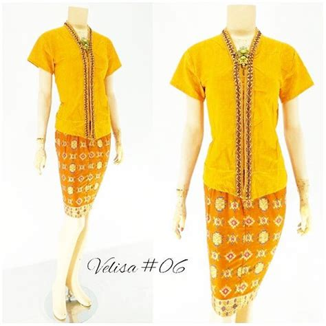 Rok And Blouse Modern 105 jual model rok blouse batik modern terbaru 2016 velisa