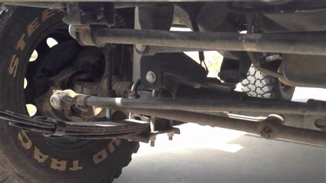 jeep wrangler tie rod 1990 jeep wrangler bad tie rod