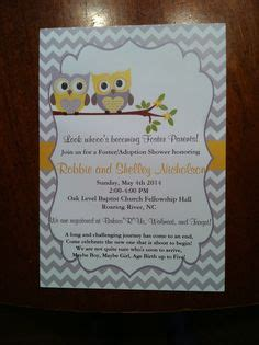 baby shower for adoptive parents adoption shower invitation international baby or foster