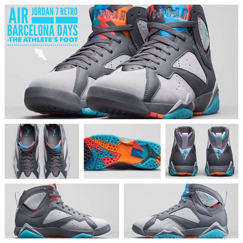 Air 7 Retro Barcelona Day air 7 retro barcelona days l the athlete s foot