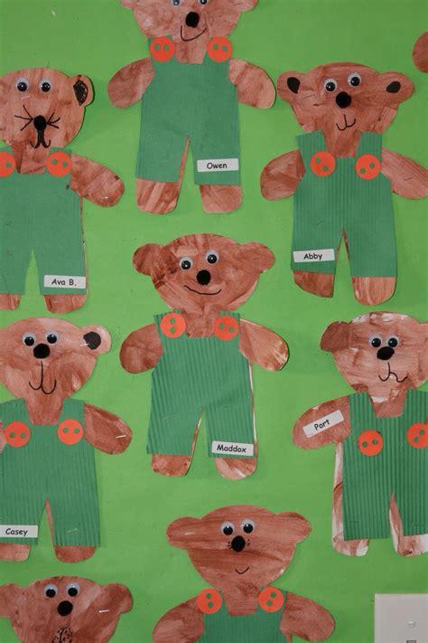 bear pattern for kindergarten 9 best classroom teddy bear picnic images on pinterest
