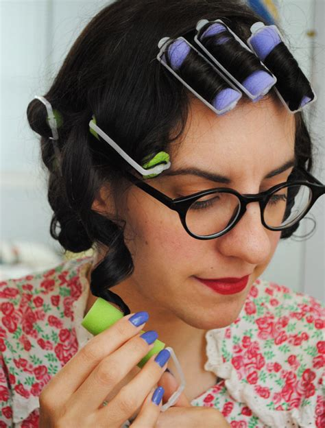 images for bob hair cut using rollers using rollers on bob a fast roller set for everyday