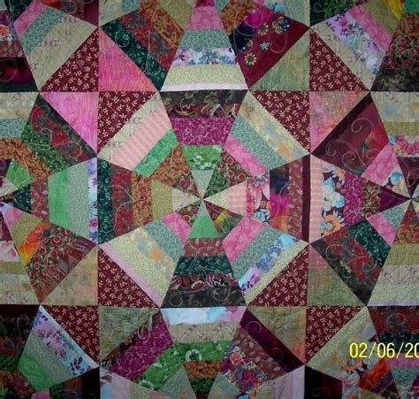 Kaleidoscope Patchwork Quilt Pattern by 410 Best Courtepointe Mosa 239 Que Kal 233 Odoscope Fussy