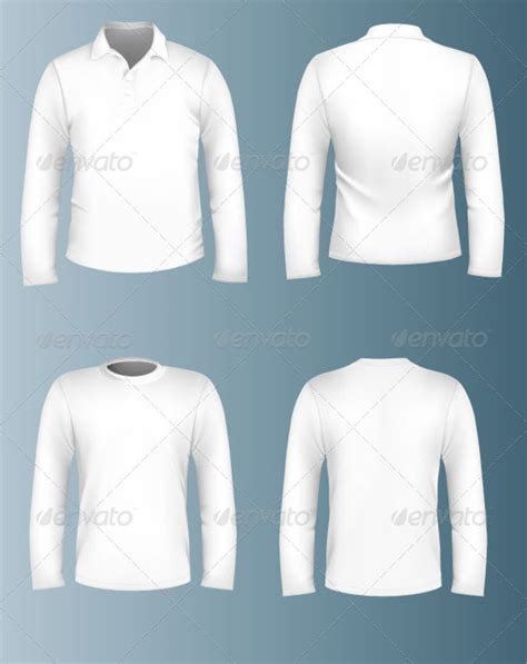 Collar T Shirt Template Psd by Sleeve T Shirt Template Psd Templates Data