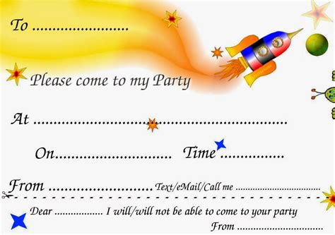 printable birthday party invitation cards printable birthday cards printable invitation cards