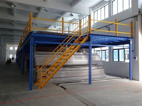 multi category warehouse mezzanine storage systems