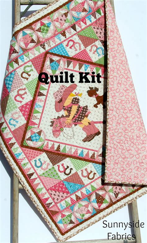 Western Quilt Kits by Quilt Kit Giddy Up Western By