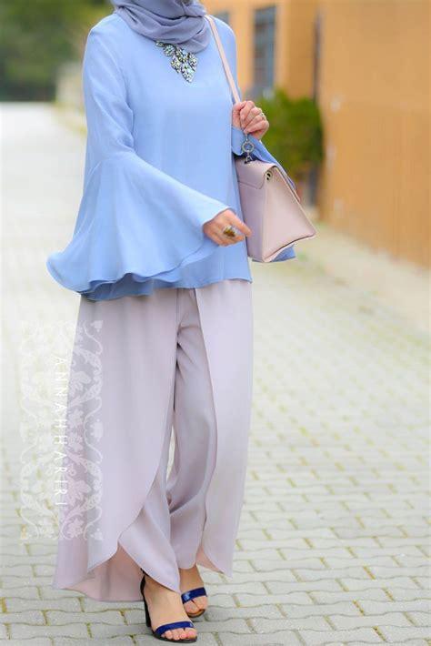 Baju Atasan Berna Top Baju Blouse Berna Top 204 best images about annah hariri modest wear on midi shirt dress dubai and white
