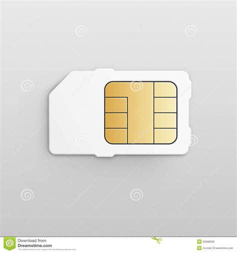 Sim Card Chip Mati celular m 243 vel sim card chip do vetor ilustra 231 227 o do vetor imagem 55698590
