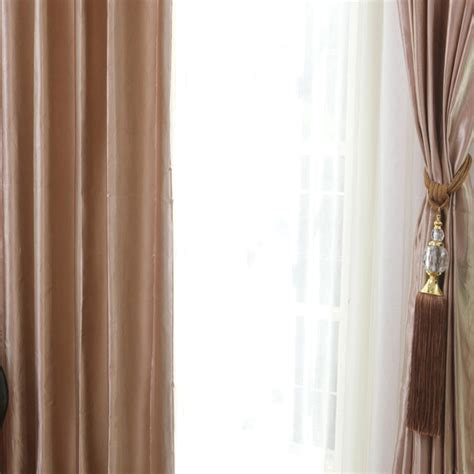 Cool Natural Fabric Curtains Providing Comfortable Home