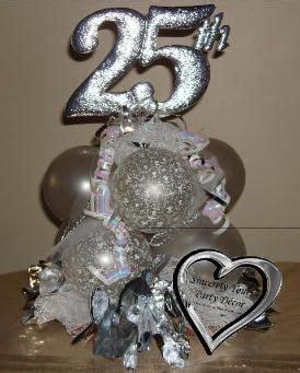 25th anniversary balloon centerpiece triad winston salem