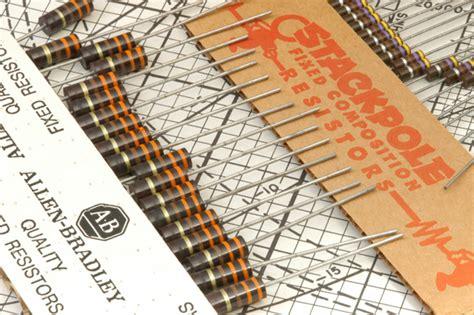68m Ohm 12watt Carbon Resistor resistor carbon comp n o s 1 2 watt