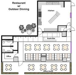 Free Restaurant Floor Plan restaurant floor plan maker online