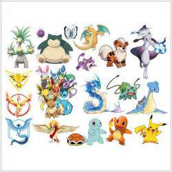 Pokemon Wall Stickers Pokemon Go Wall Stickers For Kids Rooms Home Decoration