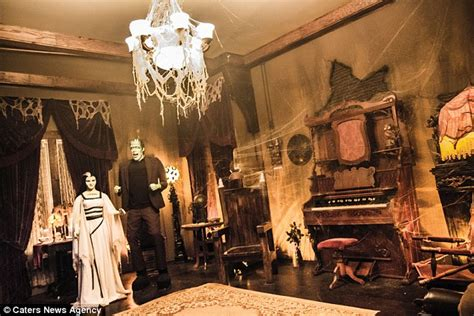 munsters living room every day for who live in replica munsters home daily mail