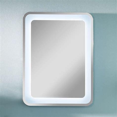 licht beleuchtung lanzet spiegel 80 x 60 cm mit indirekter led beleuchtung