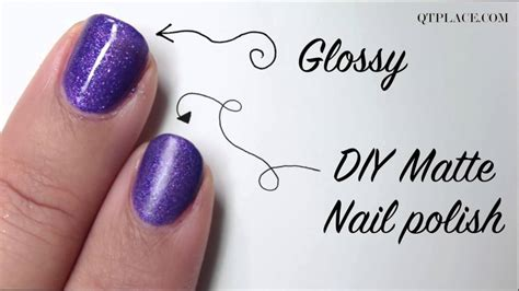 how to make any nail matte diy how to make matte nail