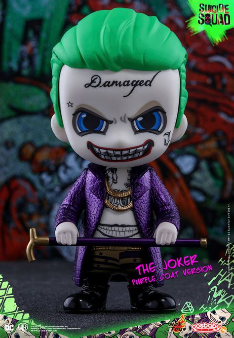 Toys Joker Squad Purple Coat toys squad cosbabys plastic and plush