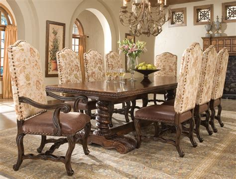 old world dining room tables coronado dining table traditional dining tables