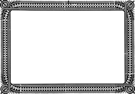 design frame for certificate certificate frame clipart best