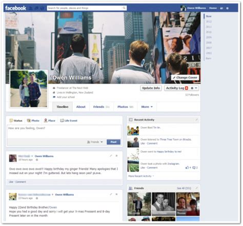 imagenes para perfil de facebook nuevo nuevo dise 241 o en el perfil de facebook dise 241 o