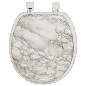 marble elongated toilet seat corinthian white gray marble padded toilet seat