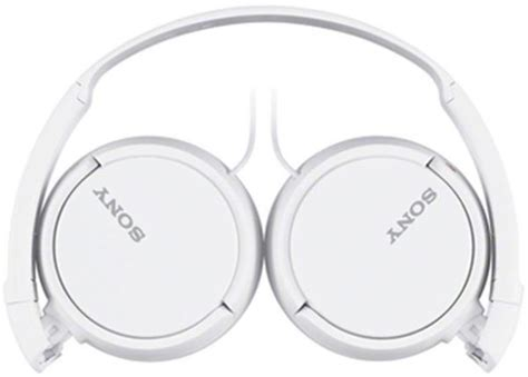 Sony Mdr Zx110ap White sony mdr zx110ap bass smartphone headphones white
