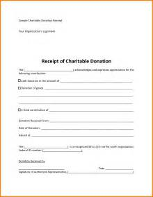 donation receipt form template doc 572739 sle receipt template word invoice
