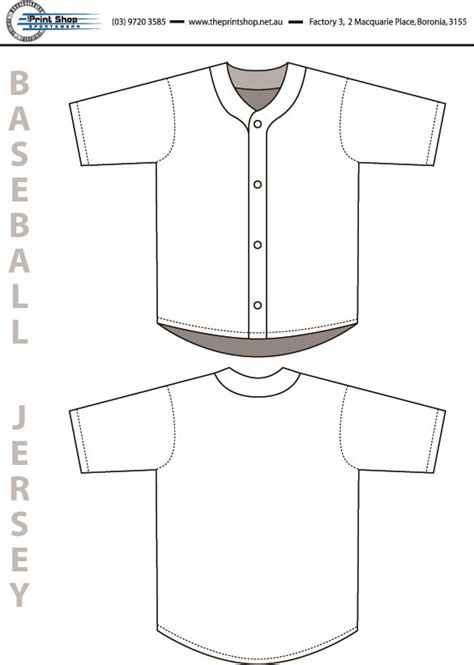 baseball jersey template baseball softball the print shop sportswear