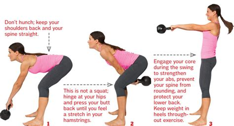 heavy kettlebell swing kettlebell prevention
