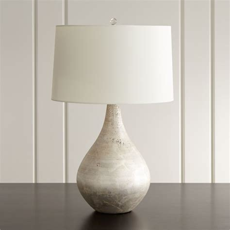 mulino teardrop table lamp reviews crate  barrel
