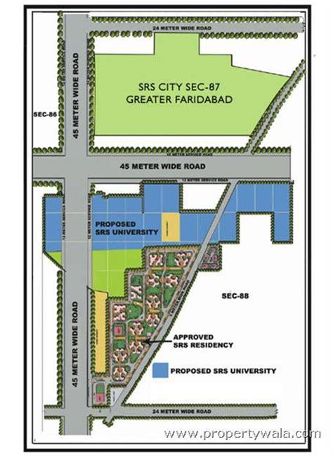 layout plan sector 56 faridabad srs residency sector 87 faridabad apartment flat