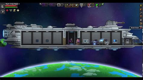 ship upgrades starbound how to upgrade your ship size in starbound youtube