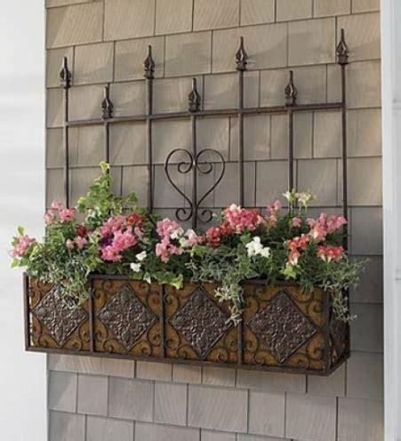 lada per piante fioriere in ferro battuto vasi e fioriere
