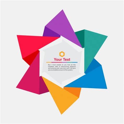 scarica cornice per foto gratis cornice origami in forma stella scaricare vettori gratis