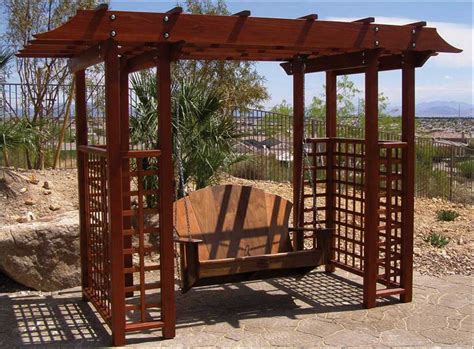 Arbor Backyard by Garden Arbors