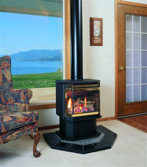 Free Standing Gas Fireplace by Gas Fireplace Freestanding Stove Fireplaces