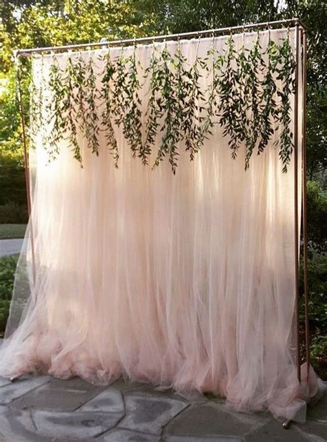 Wedding Backdrop Greenery by Trending 15 Wedding Backdrop Ideas For Your