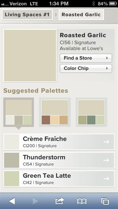 valspar roasted garlic neutral living room paint color with suggested palettes valspar