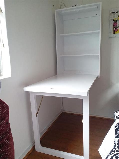 folding desk folding desk desks and white walls on