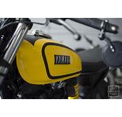 Yamaha FZ Cafe Racer By Gear Motorcycle Fuel Tank