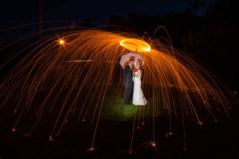 Time Lights by Wedding Photography Sligo And Groom Time Light