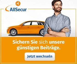 Allsecur Motorradversicherung by Allsecur Autoversicherung F 252 R Ihr Kfz Erfahrungen Und
