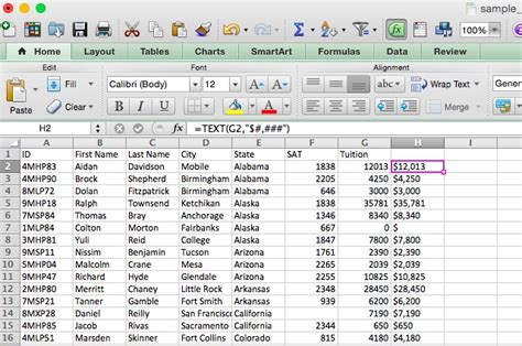 format text en excel saving time with text operations in excel