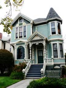 Victorian house painted in a beautiful color one of my